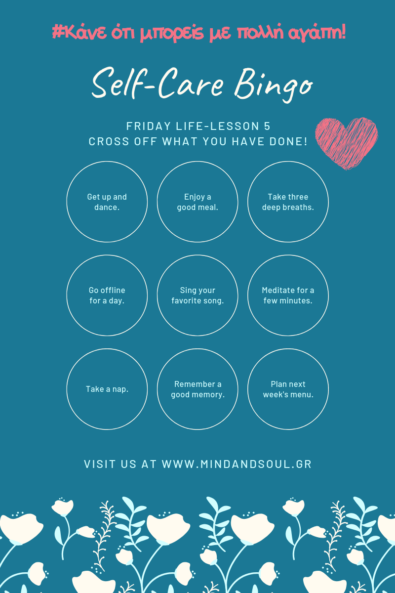 Friday life-lesson 5 by Mind & Soul